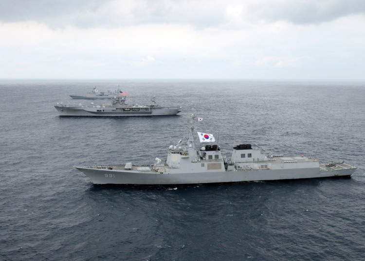 destructor AEGIS de la armada surcoreana