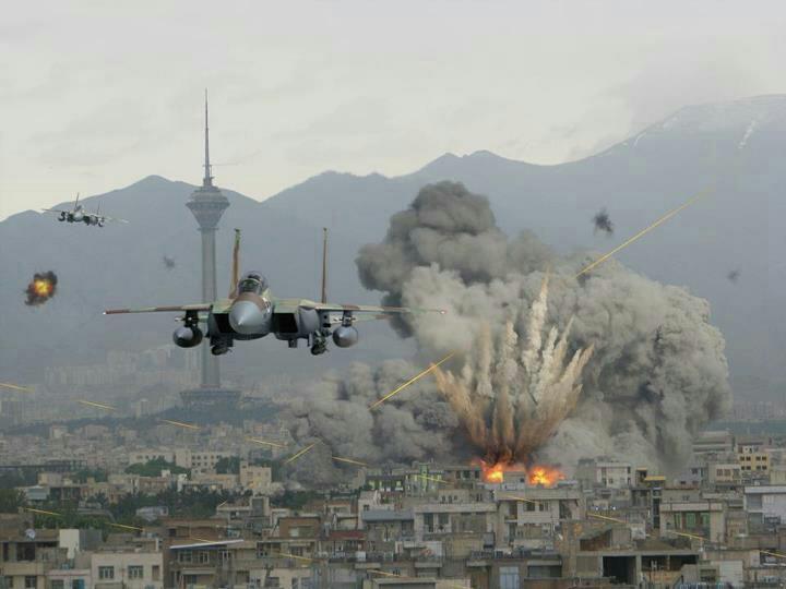 ¡F-15I isralíes bombardean Teherán!