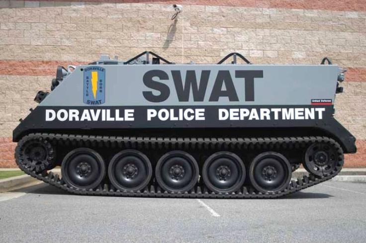 M113 del Departamento de Policía de Doraville (Georgia).
