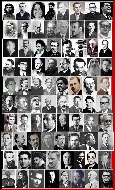 """Referentes intelectuales para el blog """"Tribulaciones Metapolíticas"""": El Che Guevara, Mishima,"""