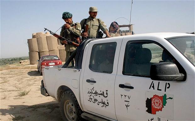 """""""Afghan Local Police"""" (ALP)"""
