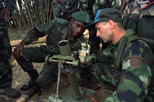 10 Feb 1997 --- THE SITUATION IN ZAIRE --- Image by © GROSSMAN ROBERT/CORBIS SYGMA