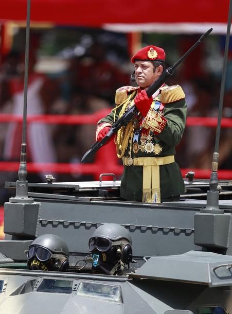 La discreta elegancia de la era chavista en el ejército venezolano