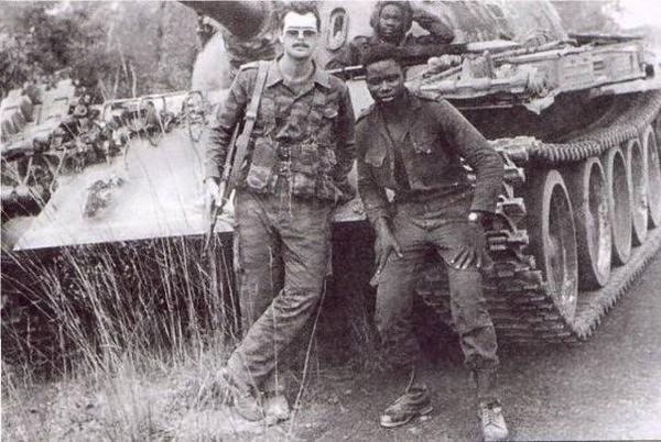 Asesor soviético en Angola