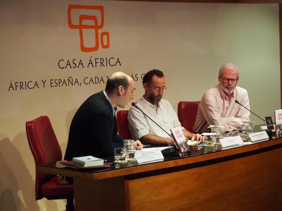 Joan Tusell presenta a Pepe Naranjo y a Jesús Núñez Villaverde